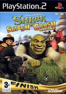 <i>Shrek Smash n Crash Racing</i> 2006 video game