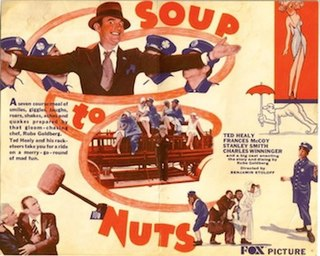 <i>Soup to Nuts</i> 1930 film by Benjamin Stoloff