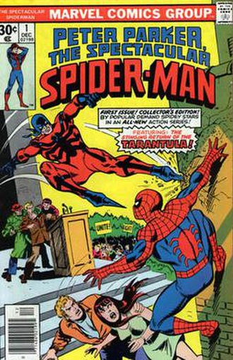 The Spectacular Spider-Man - Image: Spectacular spiderm 01
