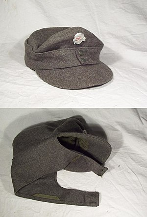 M43 field cap (SS insignia) - World War II German uniform