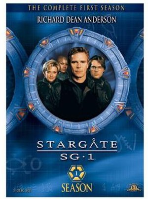 Stargate SG-1 (season 1) - DVD cover