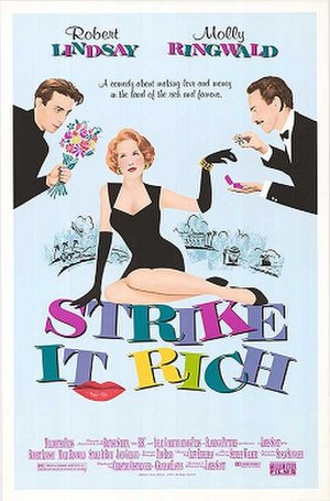 Strike It Rich (1990 film) - Theatrical release poster