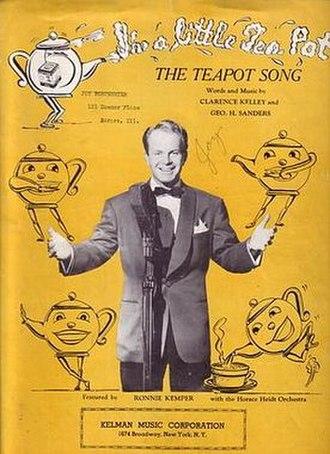 I'm a Little Teapot - Image: Teapot song sheet music cover
