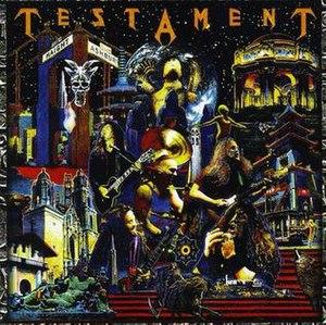 Live at the Fillmore (Testament album) - Image: Testament Live at the Fillmore (album cover)