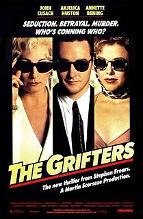 <i>The Grifters</i> (film) 1990 film by Stephen Frears
