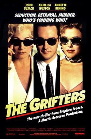 The Grifters (film) - theatrical release poster