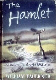 <i>The Hamlet</i> 1940 Book by William Faulkner