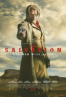 <i>The Salvation</i> (film) 2014 film by Kristian Levring