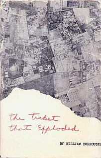 <i>The Ticket That Exploded</i> novel by William S. Burroughs