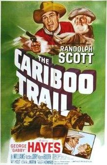 La Cariboo Trail-filmposter.jpg