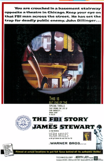 <i>The FBI Story</i> 1959 film by Mervyn LeRoy
