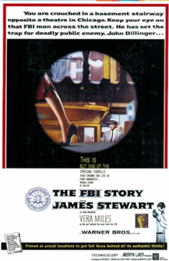 The FBI Story - 1959 theatrical poster