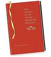 image of the cover of a book, red cover, gold lettering, title, small crudely drawn logo, author. No picture.