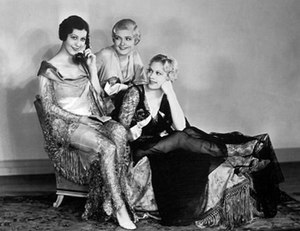 Lonely Wives - Patsy Ruth Miller, Laura La Plante, and Esther Ralston, The Lonely Wives (1931).