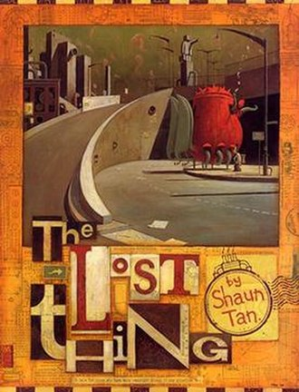 The Lost Thing - Book cover