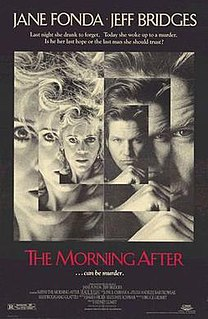 <i>The Morning After</i> (1986 film) 1986 film by Sidney Lumet