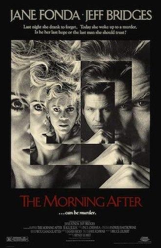 The Morning After (1986 film) - original film poster