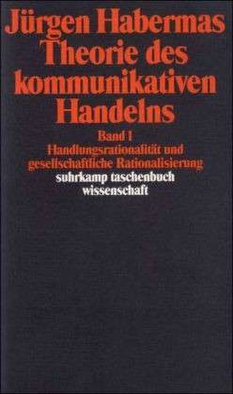 The Theory of Communicative Action - Cover of the German edition