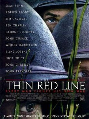 The Thin Red Line (1998 film) - Theatrical release poster