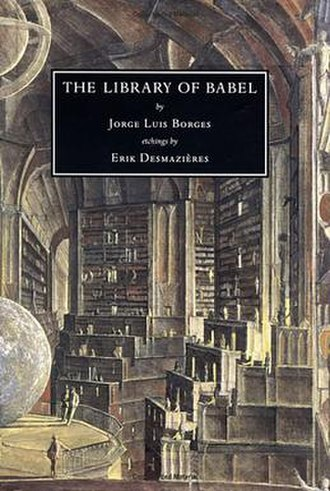 The Library of Babel - English language cover