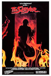 <i>The Slayer</i> (film) 1982 film by J. S. Cardone