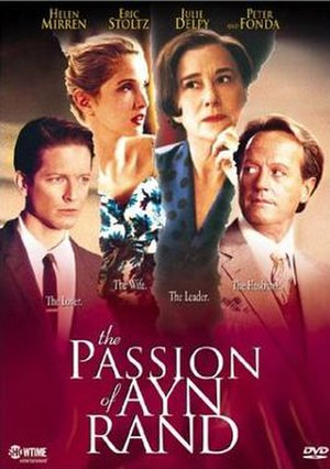 The Passion of Ayn Rand (film) - DVD cover