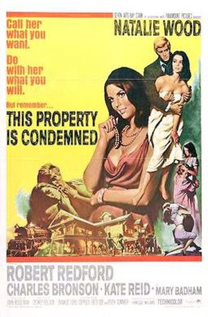 This Property Is Condemned - Theatrical Release Poster by Frank McCarthy
