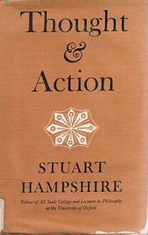 Thought and Action - Cover of the first edition
