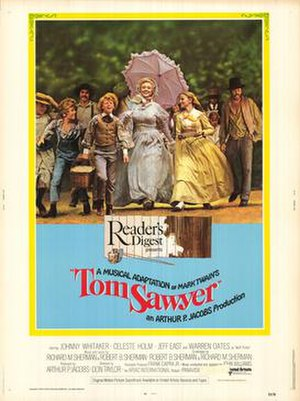 Tom Sawyer (1973 film) - Theatrical release poster