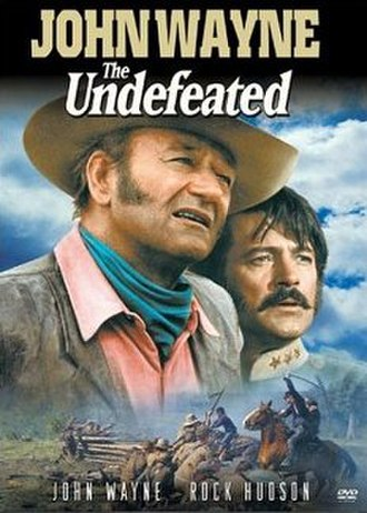 The Undefeated (1969 film) - DVD Cover