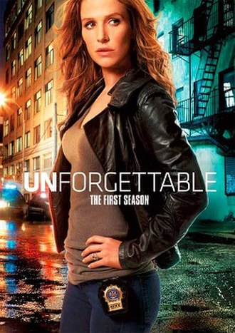Unforgettable (season 1) - DVD cover