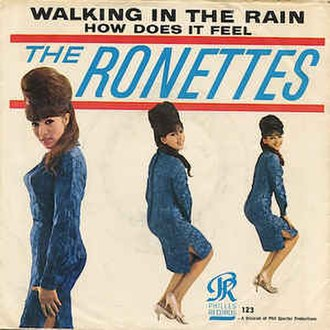Walking in the Rain (The Ronettes song) - Image: Walking in the Rain The Ronettes