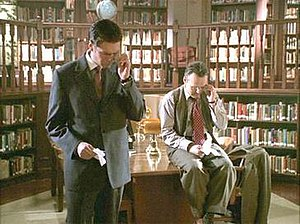 Watcher (Buffy the Vampire Slayer) - Two Watchers: Wesley and Giles