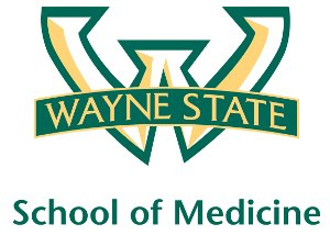 Wayne State University School of Medicine - Image: Wayne State University School of Medicine logo, 2012