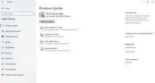 Windows Update Software update distribution service for Microsoft Windows