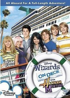 Wizards on Deck with Hannah Montana 2009 television film directed by Rich Correll and Victor Gonzalez