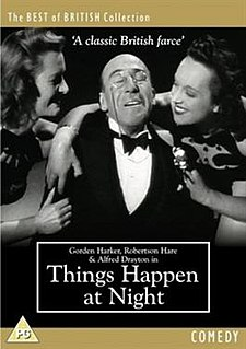<i>Things Happen at Night</i> 1947 film by Francis Searle