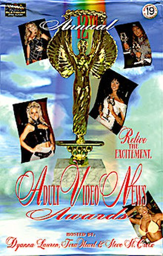 12th AVN Awards - The 12th Annual AVN Awards Show VHS box cover