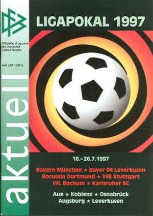 1997 DFB-Ligapokal - Tournament programme cover