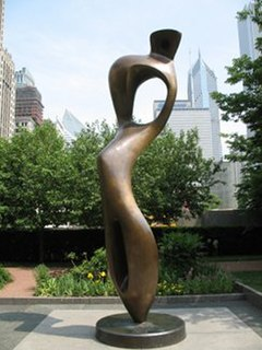 <i>Large Interior Form, 1953–54</i> sculpture series by Henry Moore