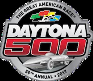 2017 Daytona 500 - Image: 2017 Daytona 500 logo