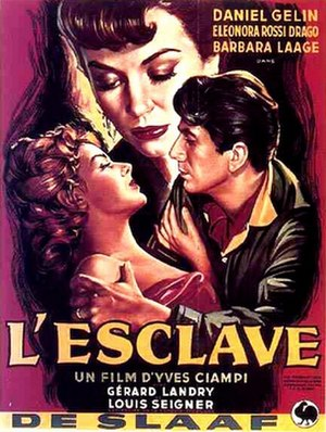 The Slave (1953 film) - Image: Affiche.L Esclave.7864