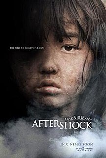 <i>Aftershock</i> (2010 film) 2010 disaster-drama film by Feng Xiaogang