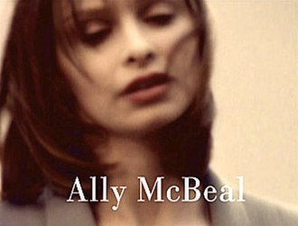 Ally McBeal - Series title card.