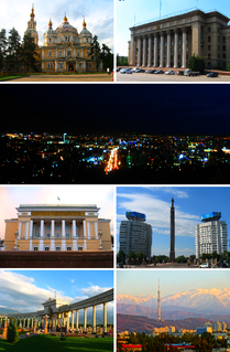 Almaty City in Kazakhstan