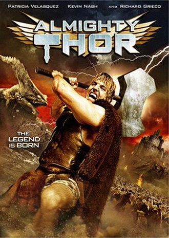 Almighty Thor - DVD cover