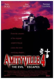 <i>Amityville 4: The Evil Escapes</i> 1989 television film directed by Sandor Stern