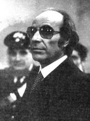 Raffaele Cutolo - Antonio Spavone, retired Camorra boss