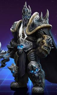 Arthas Menethil character in Warcraft