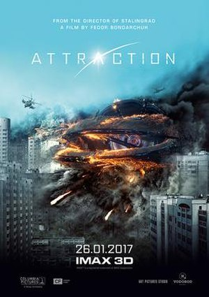 Attraction (film) - Theatrical release poster